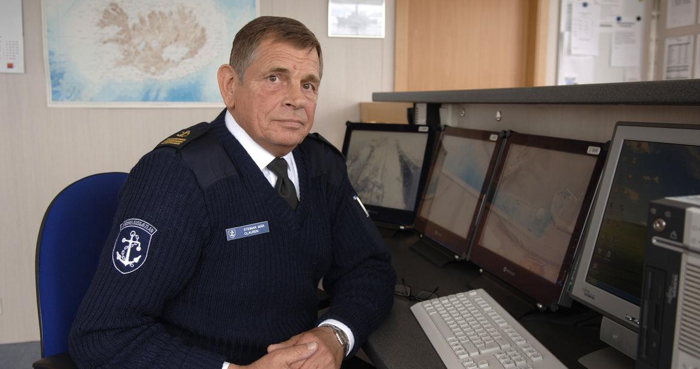 冰岛海岸警卫队的军衔和军服